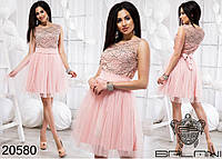 67d913ca1cc9 Нарядное вечернее короткое платье на выпускной от производителя Украина  Россия недорого р. 42-46