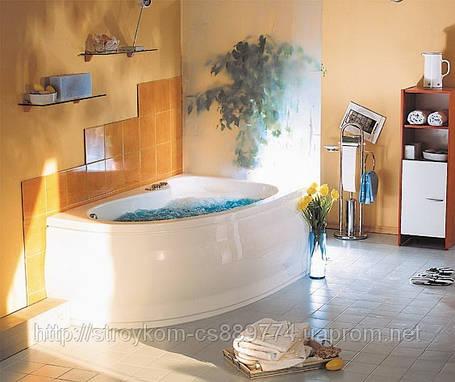 Ванна угловая с гидро и аэромассажем(160*90)правая,левая, фото 2