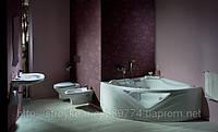 Ванна гидромассажная с окном и каскадом, Orchidea 150 x 150 с системой гидро-аэромасcажа Economy 2