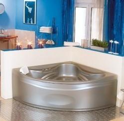 Ванна угловая с гидромассажем (140*140)