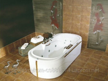 Гидромассажная ванна Liwia 192 x 87 с системой гидромассажа Economy 1 POOLSPA PHP7210SO10