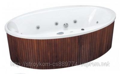 Ванна овальная с гидро и аэромассажем (190*100)