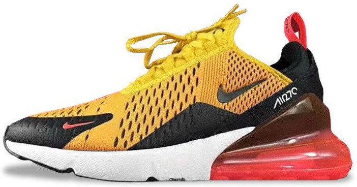 Женские кроссовки Nike Air Max 270 (Найк Аир Макс) оранжевые
