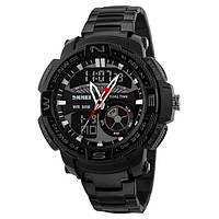 Мужские часы Skmei 1121 (Black)