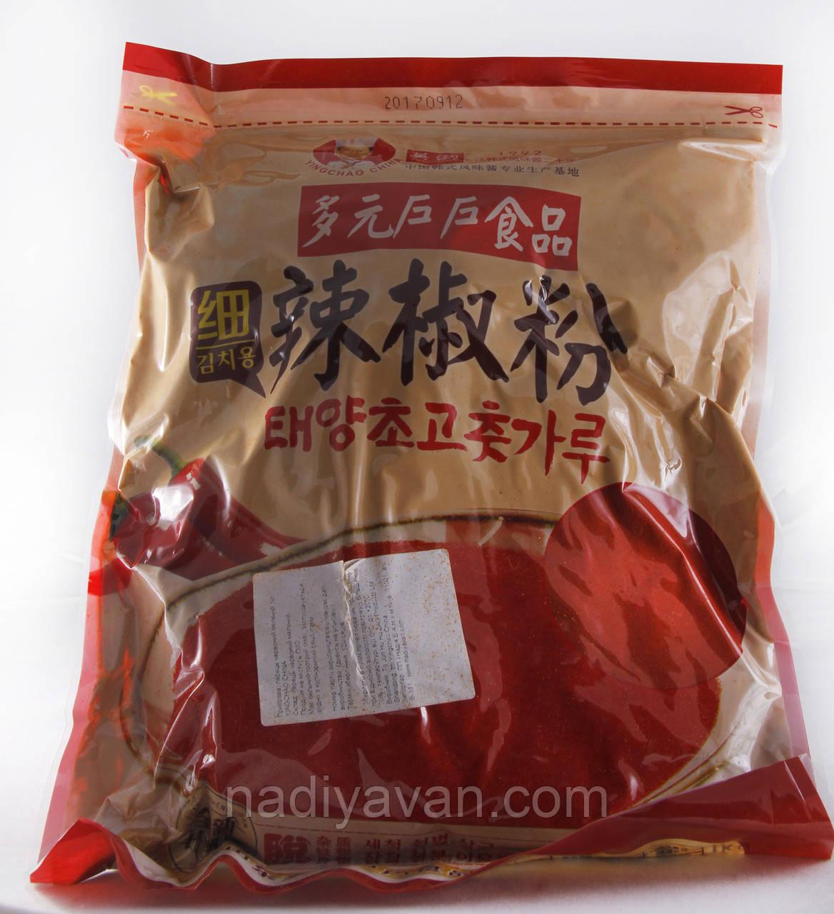 Кочукару: Красный перец кимчи 1кг tm YINGCHAO