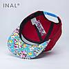 Кепка бейсболка, Pretty One, M / 55-56 RU, Хлопок, Красный, Inal, фото 3
