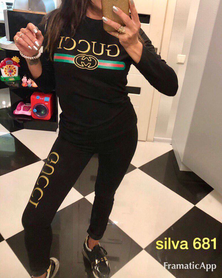 aceb8ab4a555 Женский спортивный костюм Gucci, цена 720 грн., купить в Ужгороде ...