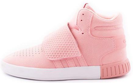 Женские  кроссовки adidas Tubular Invader (Адидас Тубулар) розовые
