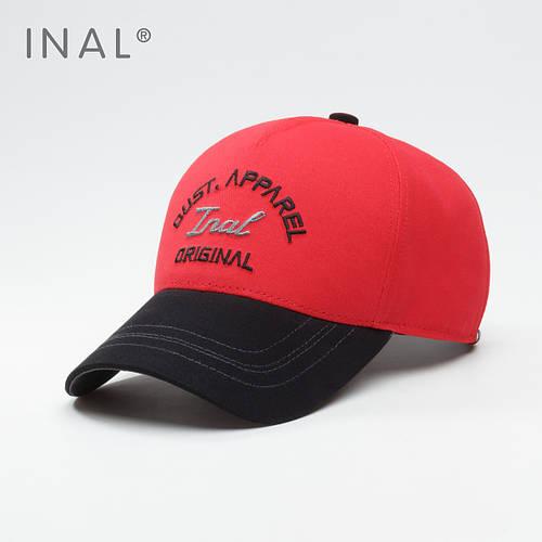 Кепка бейсболка, Original, Хлопок, Красный, Inal