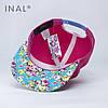 Кепка бейсболка, All very well, M / 55-56 RU, Хлопок, Розовый, Inal, фото 3