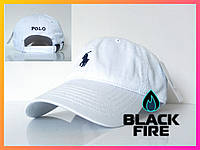Кепка Polo Ralph Lauren бейсболка Поло Ральф  белая