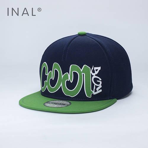Кепка бейсболка, Cool Boy, M / 55-56 RU, Хлопок, Синий, Inal