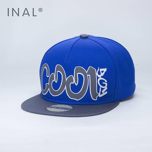 Кепка бейсболка, Cool Boy, M / 55-56 RU, Хлопок, Электрик, Inal