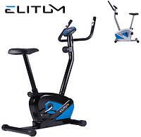 Магнитный велотренажер Elitum RX black  до 120 кг. Гарантия 24 мес.