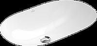 Умывальник под столешницу для ванны 60*35см белый O.NOVO