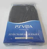 Оригинальный чехол-сумка PS Vita/PSP300/2000/1000 черный