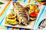 """Решетка-гриль """"Stenson"""" для рыбы тройная, 65х40х2 см., фото 2"""