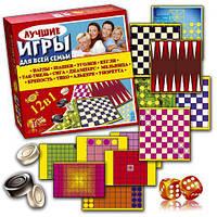 Лучшие игры для всей семьи 12 в 1 МКМ0334
