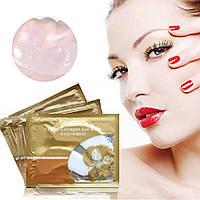 Гидрогелевые патчи для глаз с коллагеном, гиалуроновой кислотой Collagen Crystal Eye Mask,Pilaten