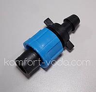 Старт с резинкой Presto-PS для капельной ленты (PO-0117), фото 1