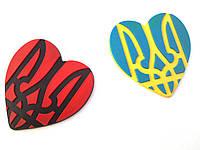Брелки с трезубцем, магниты с гербом Украины.