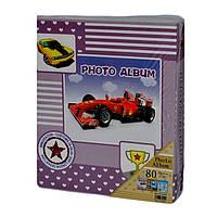 """Фотоальбом на 80 фото для мальчика """"Автомобилист"""""""