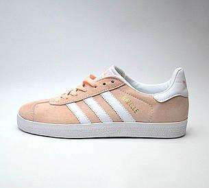 Женские кроссовки в стиле Adidas Gazelle Pink розовые, фото 2