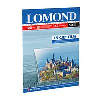 Пленка Lomond прозрачная , A3 , 50шт (0708315)