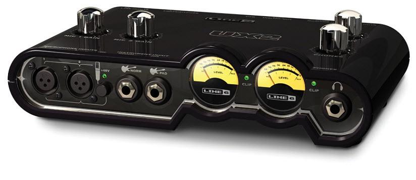 Аудиоинтерфейсы для ПК LINE6 POD STUDIO UX2