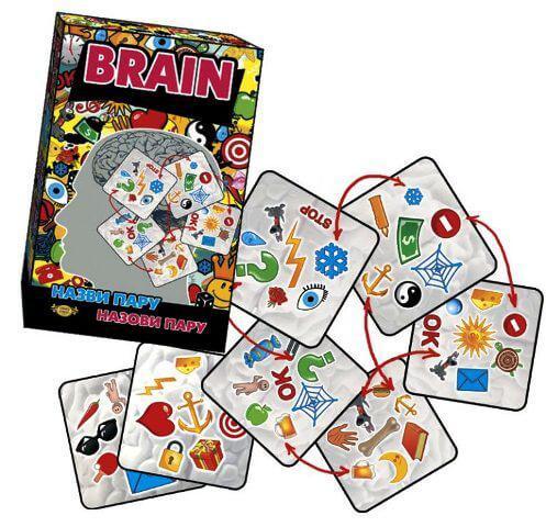 Настольная игра BRAIN назови пару МКЕ0501