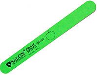 Пилки для ногтей SALON PROFESSIONAL (150/150) Fruit Series узкие, прямые, зеленые