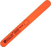 Пилки для ногтей SALON PROFESSIONAL (180/180) Fruit Series прямые, узкие, оранжевые
