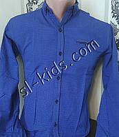 Стильная рубашка для мальчика 11-15 лет(розн) (1807) (пр. Турция)