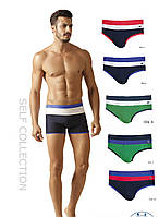 Классические мужские плавки для пляжа и бассейна от бренда SELF SPORT коллекции 2018 S 103