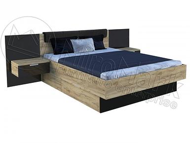 Кровать 180х200 с тумбами без каркаса Luna ТМ Миромарк