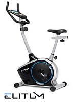 Магнитный велотренажер Elitum RX350 silver до 120 кг. Гарантия 24 мес.