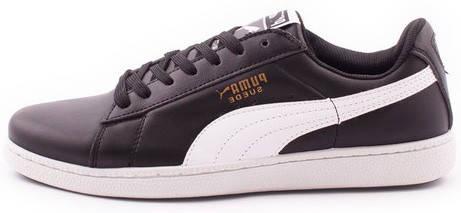 Мужские кроссовки Puma Suede Black (Пума Суиды) черно-белые ... 85a82cf568c9f