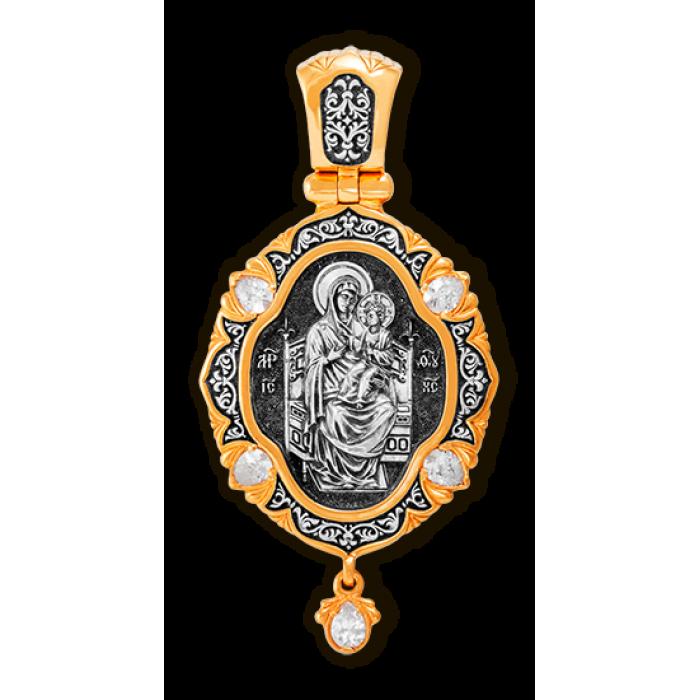 Икона Божией Матери Всецарица. Ангел-Хранитель. Образок.