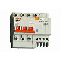 Дифференциальный автоматический выключатель АД2-63 3 полюса+N 16А 30мА