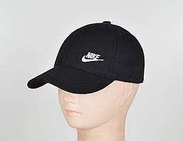 "Бейсболка Nike 6кл""Котон х/б"" черн+бел"