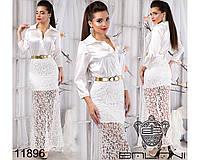 Элегантное платье в пол - 11896