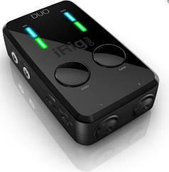IK MULTIMEDIA iRIG PRO DUO Мобильный двухканальный аудиоинтерфейс