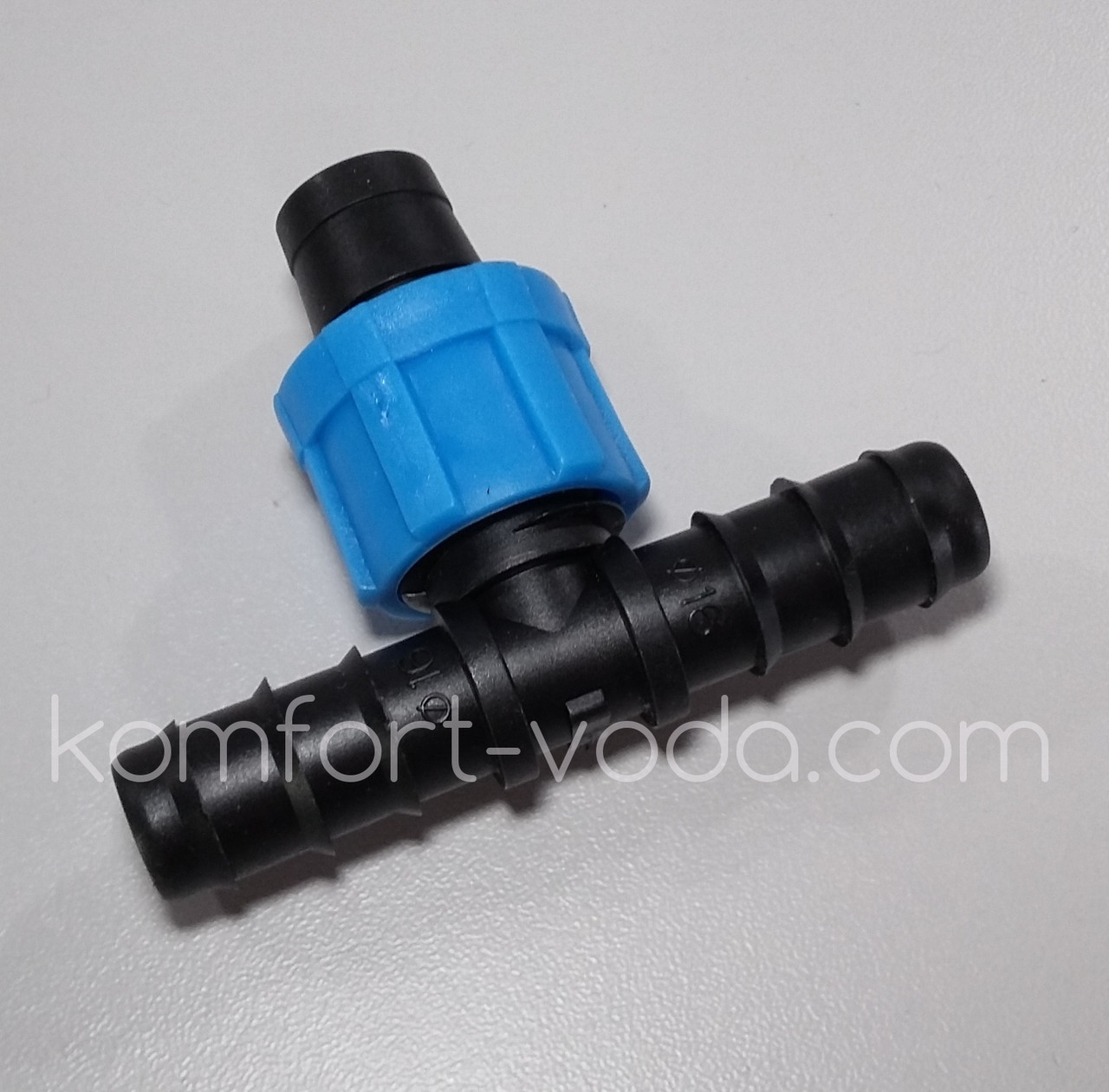 Тройник Presto-PS для капельной ленты и трубки 16мм (BT-021716)