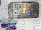 Чохол для HTC Incredible S/G11/S710e (силікон чорний), фото 4