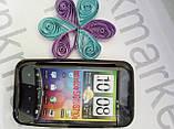 Чохол для HTC Incredible S/G11/S710e (силікон чорний), фото 2