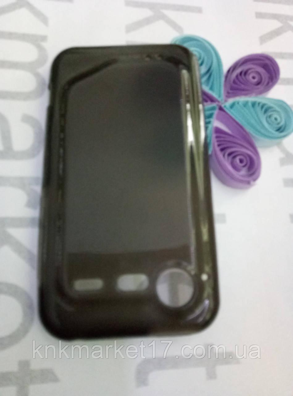 Чохол для HTC Incredible S/G11/S710e (силікон чорний)