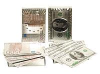 Пластиковые игральные карты для покера, серебряные 2 вида