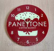 "Часы с логотипом ""PANETTONE"" Д=400 мм"