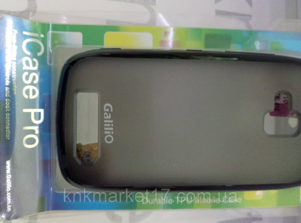 Чехол для  HTC BL- 610  (силикон черный)