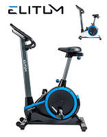 ЭлектроМагнитный велотренажер Elitum RX700 black до 150 кг. Гарантия 24 мес.